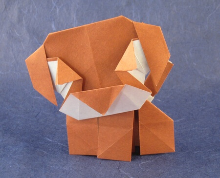 Pug by Seo Won Seon (Redpaper) (Press to Buy online this Origami Dog Template)