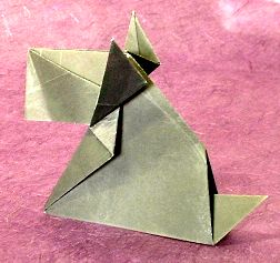 Scottie by Jun Maekawa (Press to Buy online this Origami Dog Template)