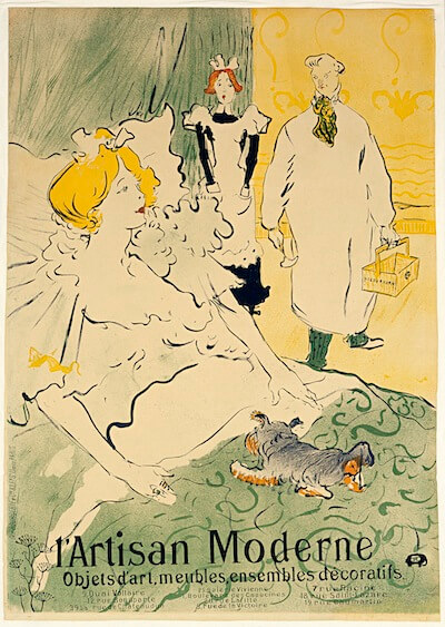 This image (c) by Henri de Toulouse-Lautrec, Poster for