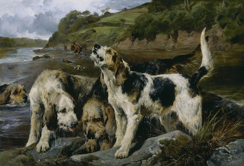 This image (c) by John Sargent Noble, Otter Hunting (