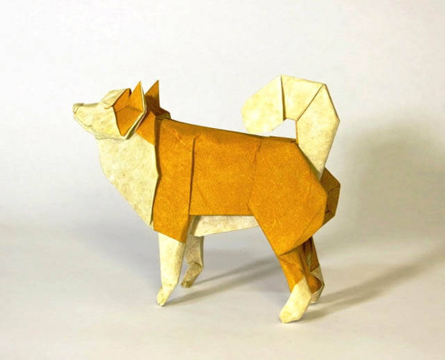 Origami Dogs, Origami Puppies, Advanced Origami, Japanese Origami
