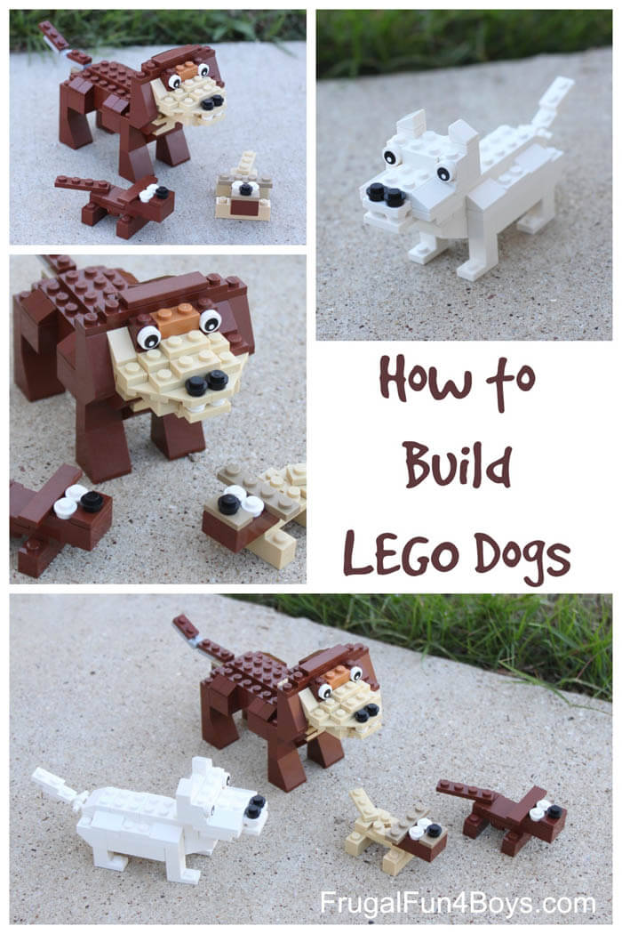 How to build Dog Lego Toys