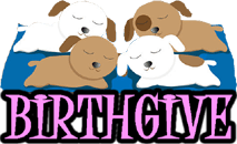 DOG BIRTHGIVE