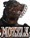 DOG MUZZLE & HARNESS
