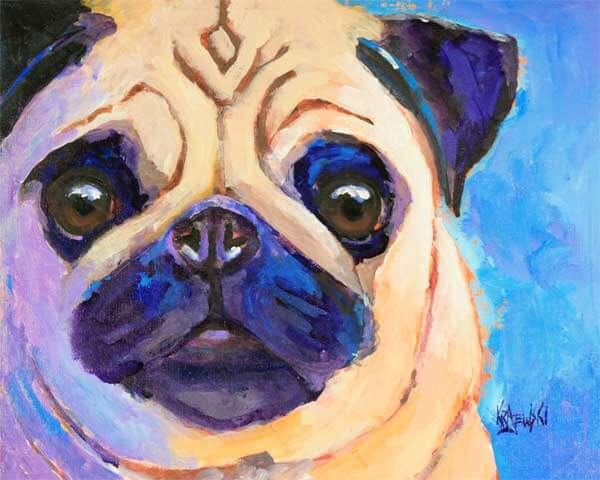 DOG ART by RON KRAJEWSKI