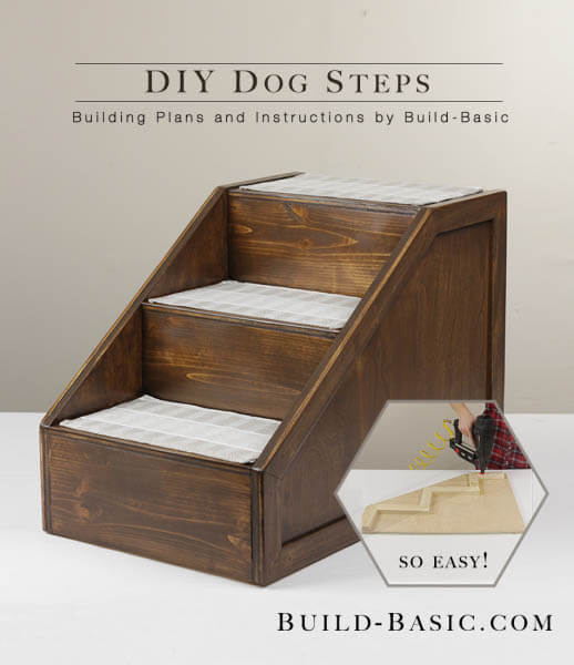 HOW TO BUILD DOG AUTOMOBILE RAMP FOR TRUCK & STEPS