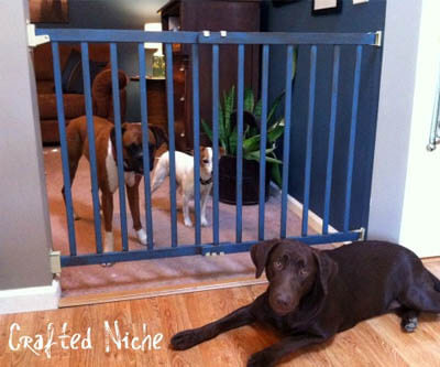 HOMEMADE DOG GATE, DOGHOUSE PLANS & MANUALS