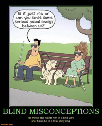 BLINDNESS IN DOGS MYTHS & STEREOTYPES, BLIND DOG MISCONCEPTIONS