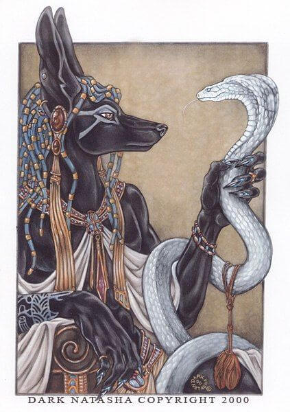 ANUBIS BY DARK NATASHA - DOG ART, DRAWINGS, PAINT